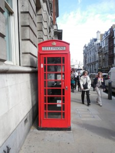 Classic London Red Telephone Booth