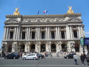 Paris Opera House (inspiration for The Phantom of the Opera)