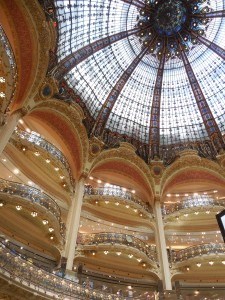 La Fayette Department Store in Paris