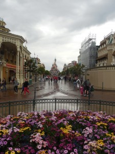 Main Street USA in Disneyland Paris