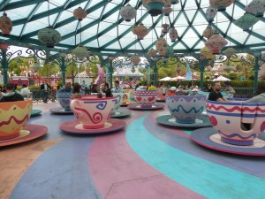 Mad Hatter's Teacups in Fantasyland