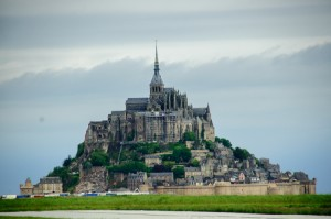 Mont. St. Michel from afar.