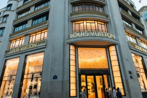 Louis Vuitton store in Paris